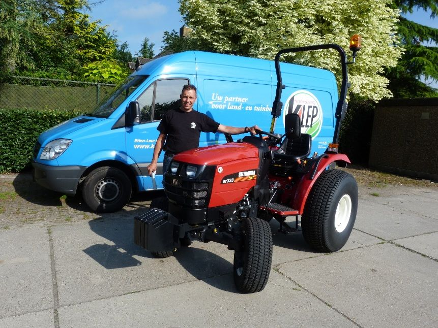 Golfbaan princenbosch b v  ontvangt nieuwe shibaura tractor